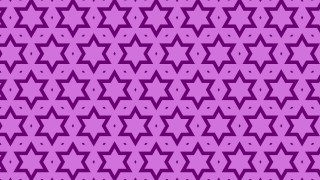 Lilac Star Pattern Illustrator