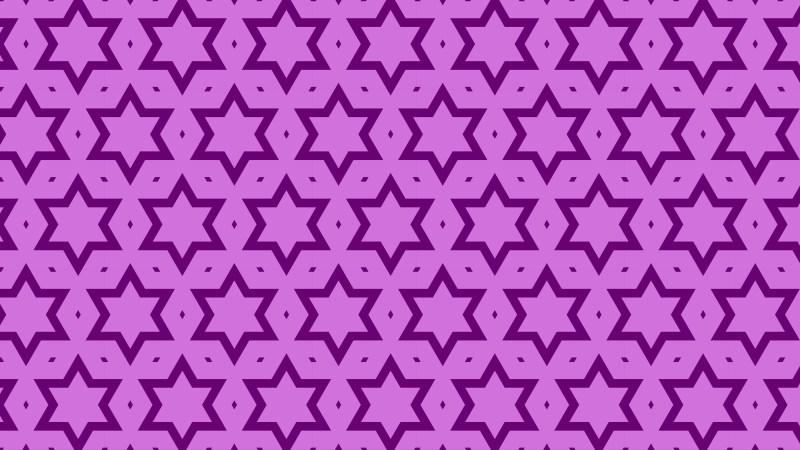 Lilac Star Pattern Illustrator