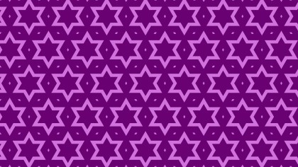 Purple Star Pattern Background Vector Illustration