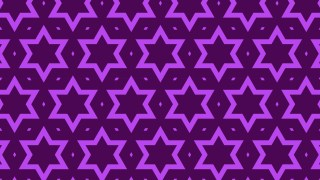 Purple Seamless Star Pattern Vector Art