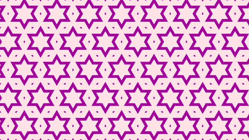Purple Seamless Star Pattern Background Graphic
