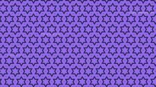 Indigo Stars Pattern Design