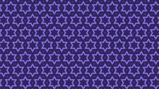 Indigo Stars Pattern Background Image