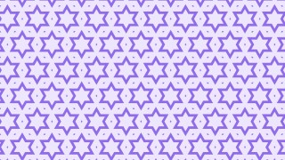 Violet Stars Background Pattern Vector Graphic