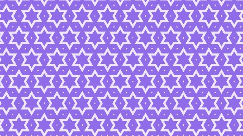 Violet Seamless Stars Pattern Vector Image
