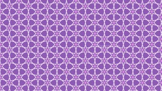 Purple Seamless Stars Pattern Background Illustrator