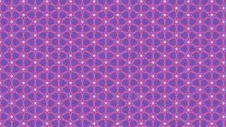 Purple Star Pattern