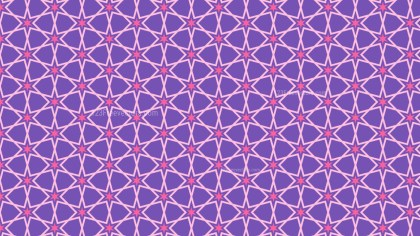 Purple Star Background Pattern