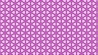 Lilac Seamless Star Background Pattern