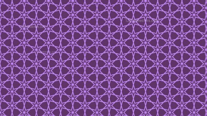 Purple Star Background Pattern Design
