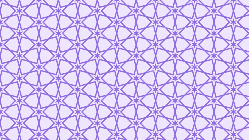 Violet Stars Pattern Background Vector Illustration