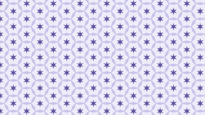 Light Purple Seamless Stars Pattern Background Graphic