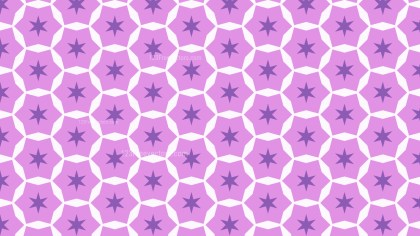 Purple Seamless Stars Background Pattern Illustration
