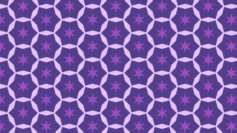 Indigo Star Pattern Background