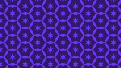 Violet Seamless Star Pattern