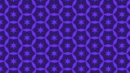 Violet Seamless Star Pattern