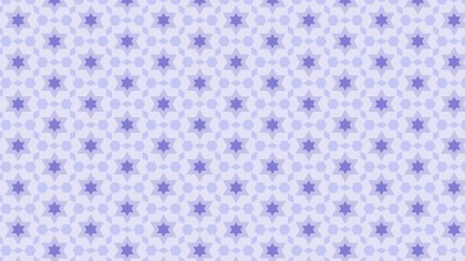 Light Purple Stars Pattern Background
