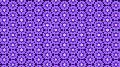 Indigo Stars Background Pattern
