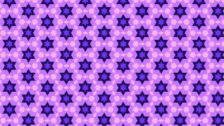 Purple Seamless Stars Background Pattern