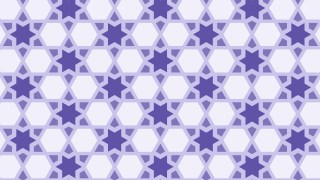 Purple Stars Pattern Graphic