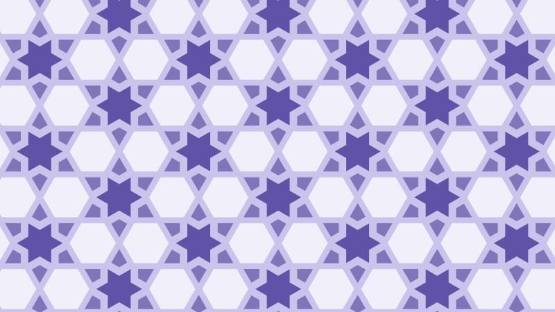 Purple Stars Pattern Graphic