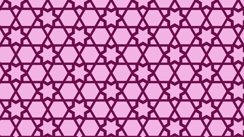 Purple Stars Pattern Background Illustration