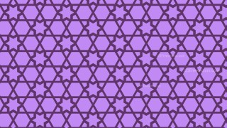 Purple Stars Background Pattern Design