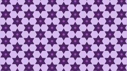 Purple Seamless Stars Pattern Image