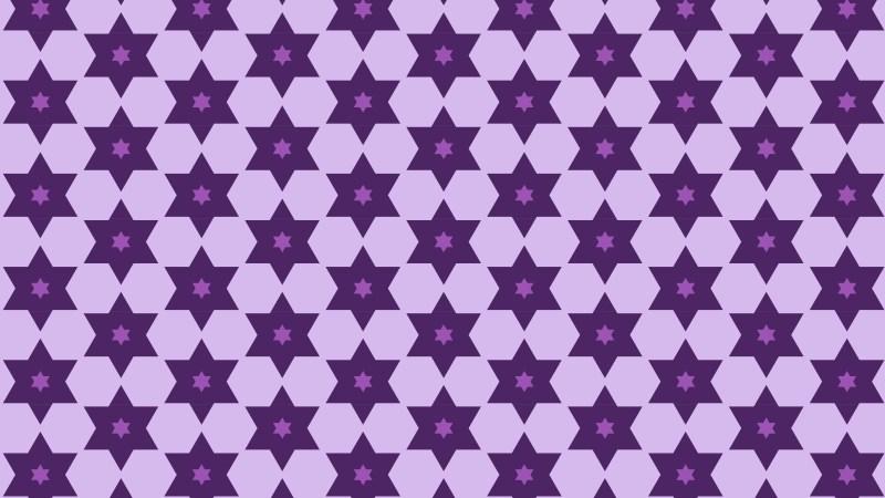Purple Seamless Stars Pattern Image