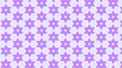 Violet Seamless Stars Background Pattern Vector Image