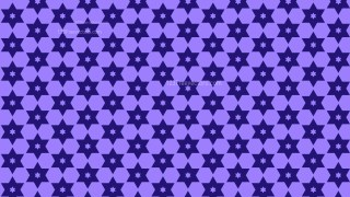 Indigo Star Pattern