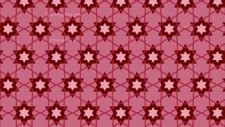 Red Stars Pattern