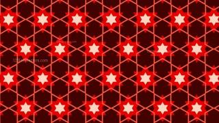 Dark Red Star Background Pattern Graphic