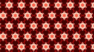 Dark Red Seamless Star Pattern Illustration