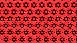 Red Stars Pattern Background Vector Image
