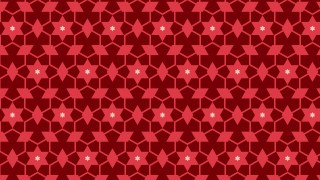 Dark Red Stars Pattern Background