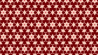 Dark Red Seamless Stars Pattern