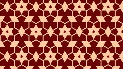 Dark Red Star Pattern Background Image