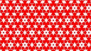 Red Seamless Star Pattern Background Illustrator