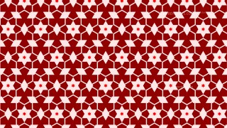 Red Stars Pattern Vector