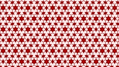 Red Stars Pattern Background Vector Art