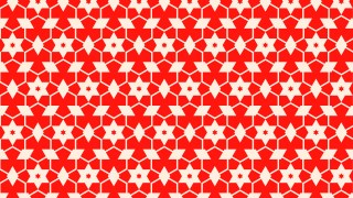 Red Seamless Star Pattern