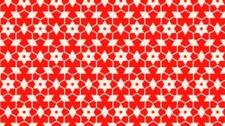 Red Seamless Star Pattern