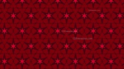 Dark Red Stars Pattern