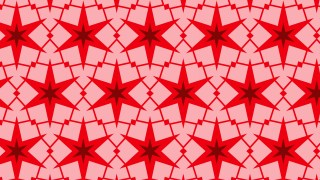 Red Seamless Star Pattern Background Graphic