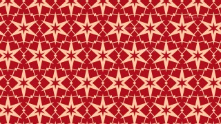 Red Stars Pattern Design