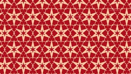 Red Stars Pattern Design