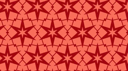 Red Stars Pattern Background Image