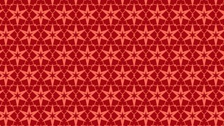 Red Stars Background Pattern Vector Graphic