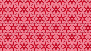 Red Seamless Stars Pattern Vector Image